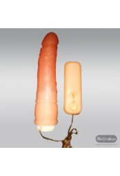 Ultra Silicone Rotating Realistic Vibrator RSV-010