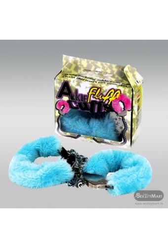 Ankle Fluff Cuffs with Keys BDSM-012