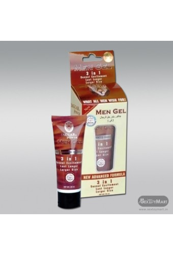 Jaguar Power 3 In 1Enlargement Cream for men 50ml PEC-005