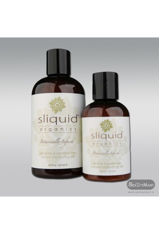 Natural lubricanting Silk Organic by Sliquid 125ml CGS-023